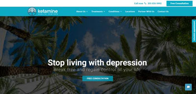 Find Ketamine Infusion Clinics | Ketamine Clinics Directory