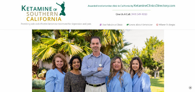 Excellent ketamine infusion therapy for depression, pain, OCD, migraines, and neuropathy in Southern California
