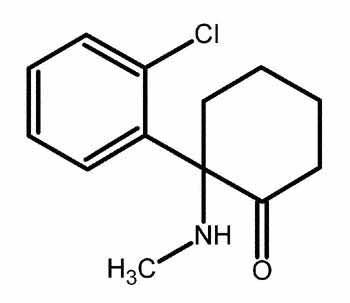 ketamine compound and chemical structure of ketamine