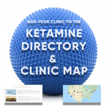 Join the #1 Ketamine Website on the Internet<br>Add Your Clinic to the Official Ketamine Map<br>and to the Featured Ketamine Directory